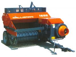 Serie 1600 S > Pick-up 130 cm. • Para tractores desde 20 HP y T.F. a 540 rpm. Gallignani
