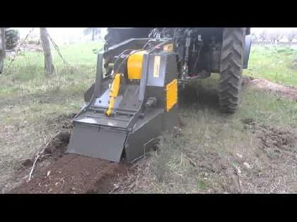 "Fresadoras - Rotovator AgriWorld Fresadora Para Roca/ De Tocones FTCD 140.35"""