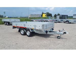 Buy Online Multifunction Trailers Tema remolque nuevo transporter 3217/2c  second hand