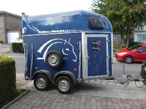 Buy Online Livestock Trailers Cheval liberte 1.5 caballos  second hand