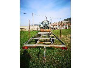 Sales Platform trailer Desconocida carro portatubos Used