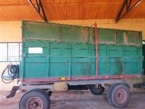 Sales Farm trailer H. Bellon Membrilla remolque Used