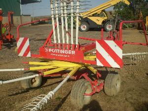 Venta de Rastrillos hileradores  Pottinger modelo 461  de 4m de pua  a pua usados