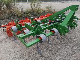 Vibro cultivadores Preparador 19 brazos + rodillo + rastra Desconocida