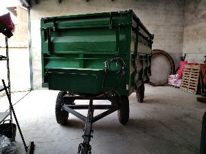 Verkauf von Kipper Desconocida remolque agrícola gebrauchten Landmaschinen