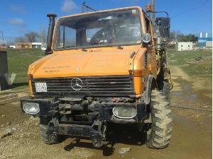 Verkauf von Unimogs Mercedes Benz  gebrauchten Landmaschinen