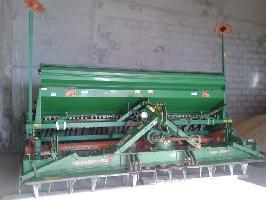 Sembradoras de mínimo laboreo Amazone sembradora AD 403 + grada KG 403 Amazone