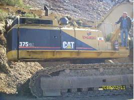 Excavadoras de Cadenas cartepillar 375me  Desconocida