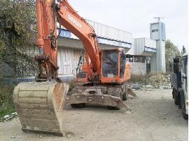 Excavadoras de Ruedas 210 dx DOOSAN