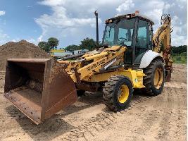 Excavadoras de Ruedas 655E New Holland