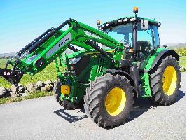 Tractores agrícolas 6130R John Deere