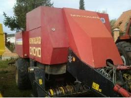 Rotoempacadoras D1010  New Holland