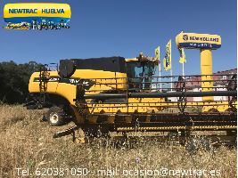 Cosechadoras de cereales NEW HOLLAND CX 740 New Holland
