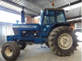 Tractores agrícolas TW10 Ford