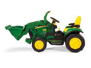 Comprar online Pedali John Deere tractor infantil juguete a pedales jd  con pala de segunda mano
