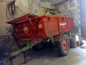 Offerte Rimorchio ribaltabile Pasquali remolque usato