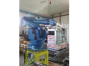 Venda de Embalagem yaskawa motoman instalación robot paletizador usados