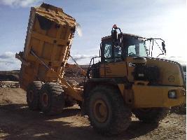 Camiones Articulados BELL 40 D (3 UNIDADES) Bell