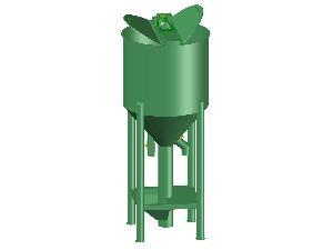Ofertas Misturadora vertical Guibor Ingeniería mezclador vertical. solo planos para manufactura. De Segunda Mão