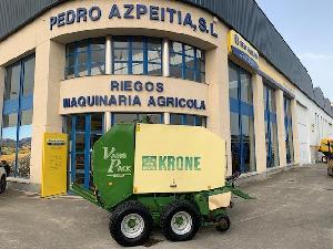 Venda de Atadeira de fardos redondos Krone vario pack 1500 usados
