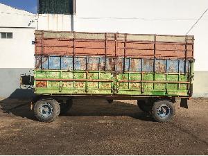 Buy Online Farm trailer Desconocida remolque agricola basculante  second hand