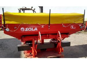 Sales Mounted Fertiliser Spreader Sola 2.500 kg Used