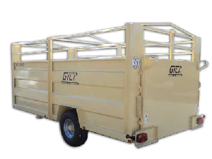 Buy Online Livestock Trailers Gili remolque rv5  second hand