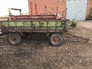 Offers Farm trailer Desconocida remolque fijo 2 ejes used