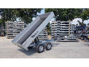 Buy Online Tilting tráiler. Tipper CHEVAL remolque nuevo basculante hidraulico  second hand
