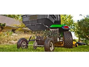 Sales Trailed Fertilizers AgroRuiz abonadora, esparcidor sal, sembradora 50 kg Used