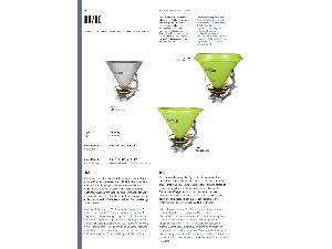 Offers Centrifugal Fertiliser Spreader ROCHA kc 500 used