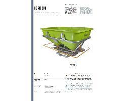 Abonadoras Centrífugas KC 2000 ROCHA
