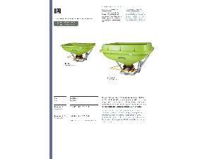 Buy Online Mounted Fertiliser Spreader ROCHA kp 600 kp 1000  second hand