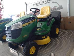 Buy Online Mowers John Deere minitractor x135r  second hand