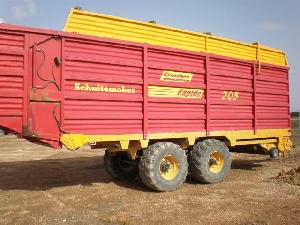 Offers Self loading wagons SCHUITEMAKER rapide 205 used