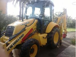 Retroexcavadora Newholland L95 New Holland
