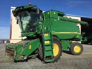 Sales Grain Harversters John Deere t660 hillmaster Used