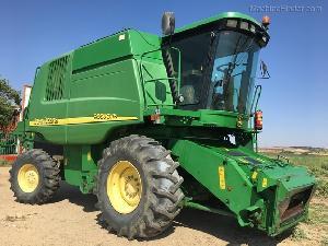 Sales Grain Harversters John Deere 9560 cws Used