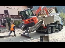 Excavadoras de Ruedas U55-4 Kubota