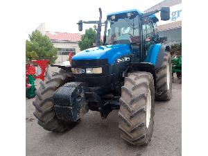 Comprar online Tractores agrícolas New Holland tractor  tm115 de segunda mano