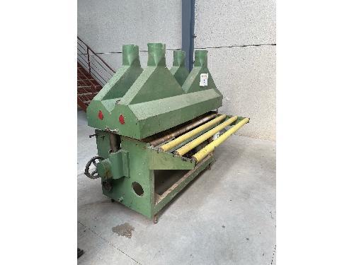 Maquinaria para madera Cepillo con Alimentador.