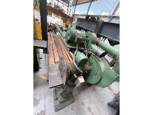 Maquinaria para madera Lijadora de banda con bancada móvil.
