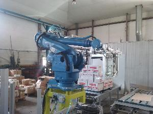 Packing machines yaskawa motoman INSTALACIóN ROBOT PALETIZADOR