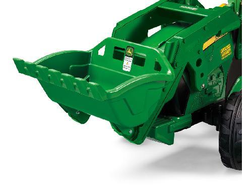 Tractores de juguete John Deere TRACTOR INFANTIL JUGUETE A PEDALES JD  CON PALA