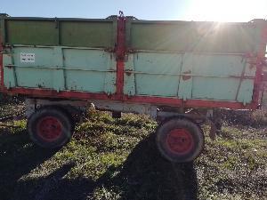 Comprar online Remolques agrícolas Desconocida remolque basculante de segunda mano