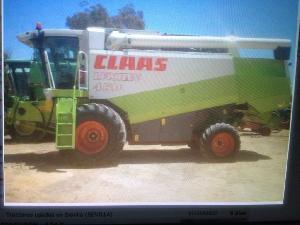Comprar online Cosechadoras de cereales Claas lexion 450 de segunda mano