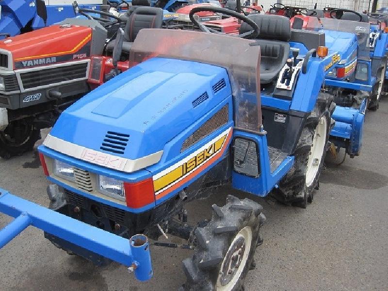Micro-tracteurs / Mini-tracteurs Iseki TU155F