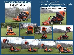 Venta de Máquinas para calles Kubota f2880 usados