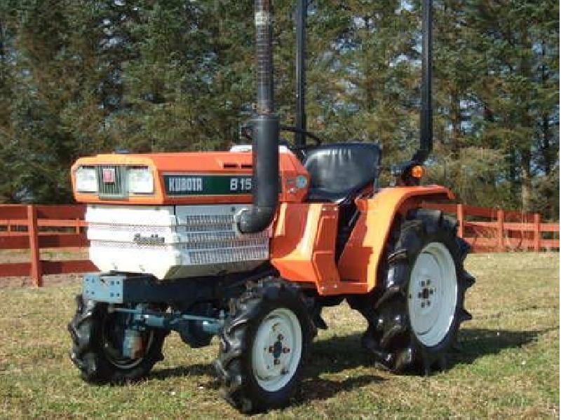 Garden tractors Kubota  B-1502-DT