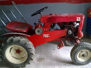 Comprar online Tractores agrícolas Wheel Horse 702 de segunda mano